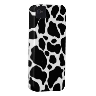 Cow skin pattern iPhone 4 cases