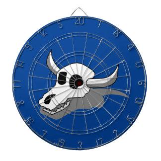 Cow Skull Bones Dartboard