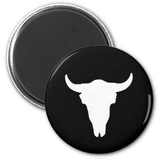 Cow Skull Fridge Magnets