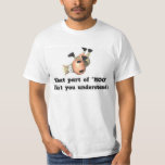 Cow tipping humour t-shirt