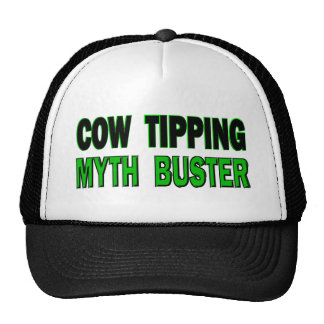 Cow Tipping Myth Buster Cap