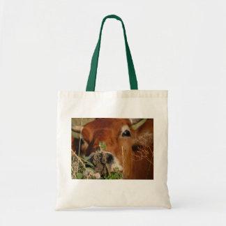Cow Budget Tote Bag