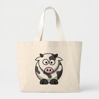 cow jumbo tote bag
