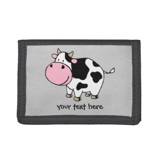 Cow Trifold Wallets