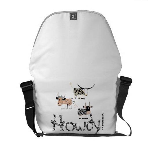 Cow Trio Commuter Bag
