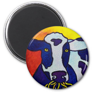 Cow Wow piliero 6 Cm Round Magnet