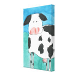 Cow Wrapped Canvas Canvas Prints