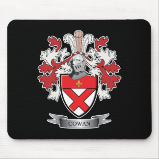 Cowan Family Crest Coat of Arms Mouse Pad
