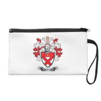 Cowan Family Crest Coat of Arms Wristlet
