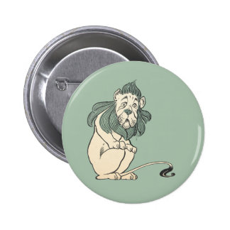 Cowardly Lion, Wizard of Oz 6 Cm Round Badge