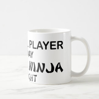 Cowbell Deadly Ninja by Night Basic White Mug