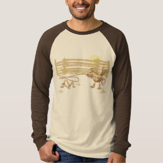Cowbird Long Sleeve Raglan T-Shirt