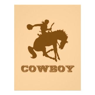 Cowboy 21.5 Cm X 28 Cm Flyer