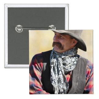 Cowboy 5 15 cm square badge