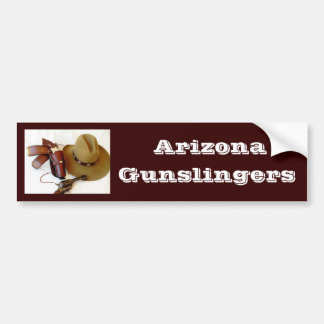Cowboy Action Shooting Club Bumper Stickers