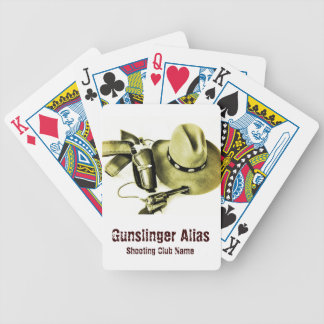 Cowboy Action Shooting Fast Draw Playing Card Deck Bicycle Playing Cards