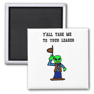 Cowboy Alien Cartoon Fridge Magnets