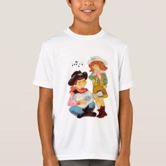 Cowboy and Cowgirl Singers T-Shirt
