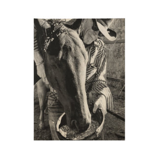 Cowboy and Horse Poster