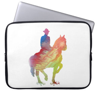 Cowboy art laptop sleeve