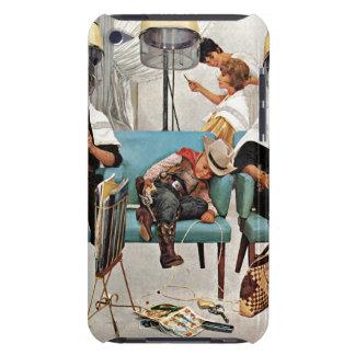 Cowboy Asleep in Beauty Salon Case-Mate iPod Touch Case