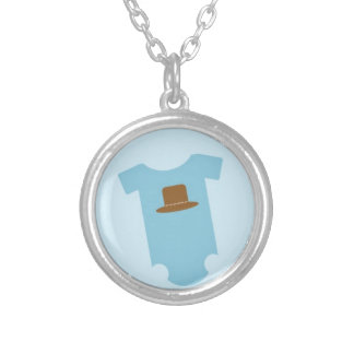Cowboy Baby Pendant Necklace