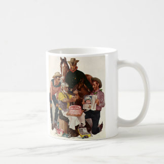 Cowboy Birthday Coffee Mugs