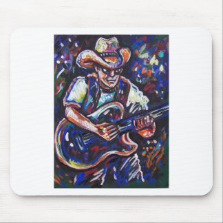 cowboy blues mouse pad