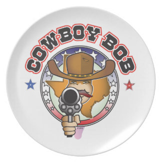 COWBOY BOB PLATE