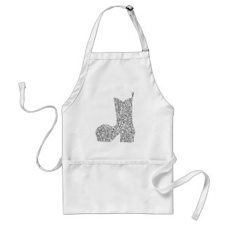 COWBOY BOOT ADULT APRON