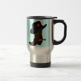 COWBOY BOOT & HAT Travel/Commuter Mug