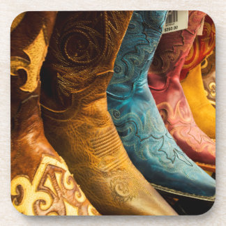 Cowboy boots for sale, Arizona Beverage Coaster