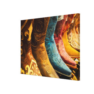 Cowboy boots for sale, Arizona Canvas Print