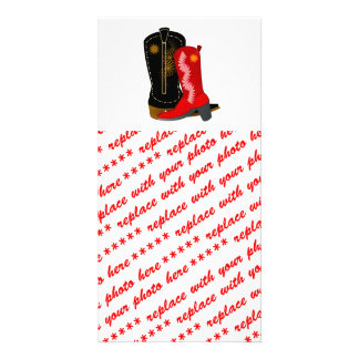 Cowboy Boots Photo Cards