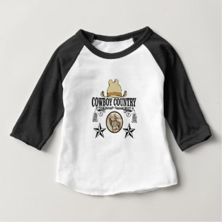 cowboy country rider baby T-Shirt