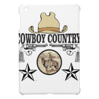 cowboy country rider iPad mini case