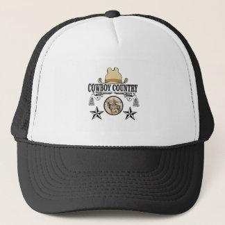cowboy country rider trucker hat