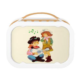Cowboy Cowgirl School Lunchbox