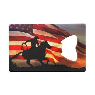 Cowboy Credit Card Bottle Opener Gift