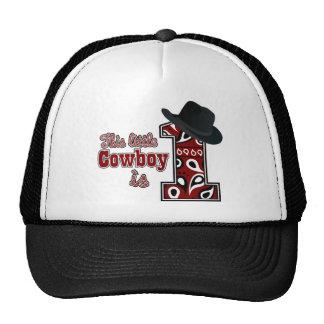 Cowboy First Birthday Cap