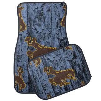 Cowboy floor car mats