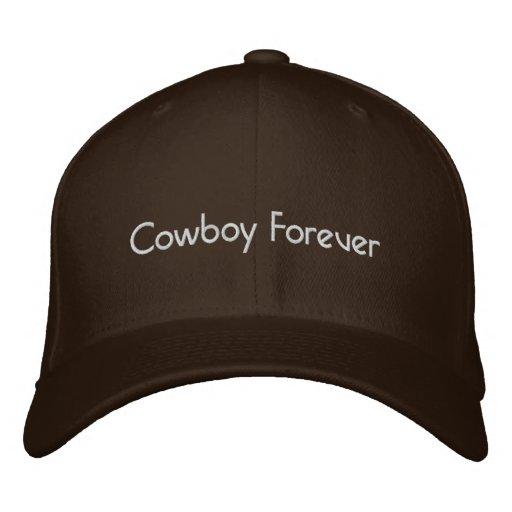 CowBoy Forever Embroidered Baseball Caps
