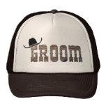 Cowboy Groom Hat
