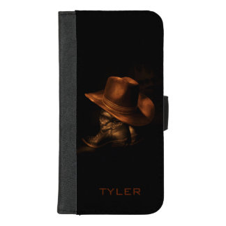 Cowboy Hat and Leather Boots Masculine Personalise Case