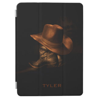 Cowboy Hat and Leather Boots Masculine Personalize