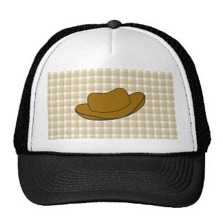 Cowboy Hat illustration. Brown.