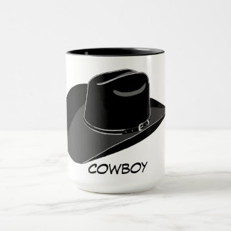 Cowboy hat mug