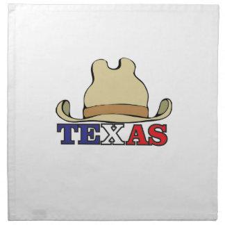 Cowboy hat texas napkin