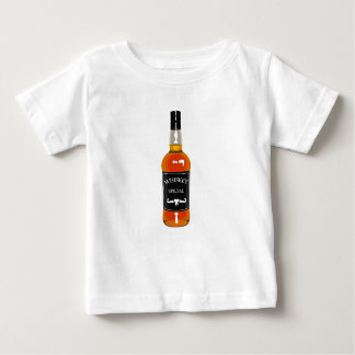 Cowboy Hat With Attaching String Drawing Isolated Baby T-Shirt