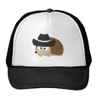 Cowboy Hedgehog Trucker Hat